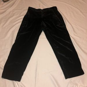 J. Crew Velvet Pull-On Pants Women's Medium